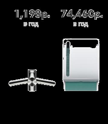 Сушилка для рук Dyson Airblade Tap интегрированная в кран
